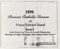 1890 Roman Catholic census of Prince Edward Island - Book 5